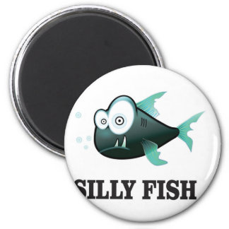 silly fish magnet