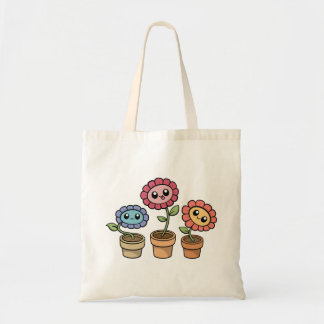 Silly Flowers Tote