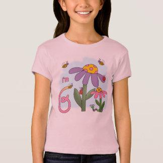 Silly Garden 6th Birthday T-Shirt