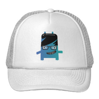 silly geek monster friend hat