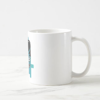 silly geek monster friend coffee mug