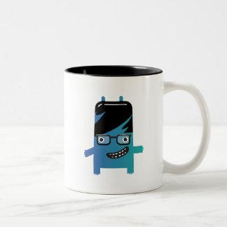 silly geek monster friend mug