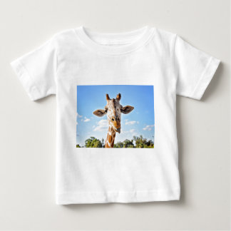 Silly Giraffe Baby T-Shirt