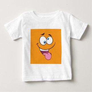 Silly Goofy Square Emoji Baby T-Shirt