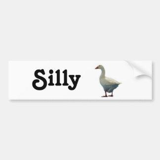 Silly Goose Bumper Sticker
