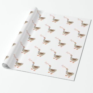 Silly Goose Wrapping Paper