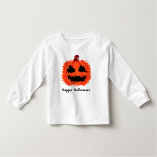 Silly happy cute Halloween jack o lantern pumpkin Tee Shirts