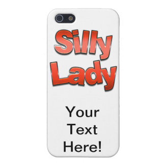 Silly Lady Red iPhone 5/5S Case
