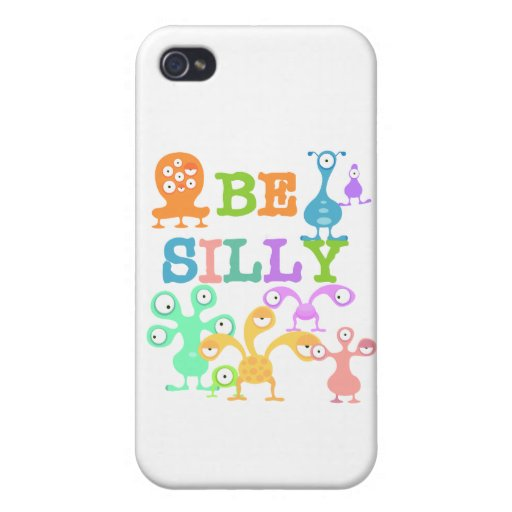 Silly Monsters iPhone 4 Covers