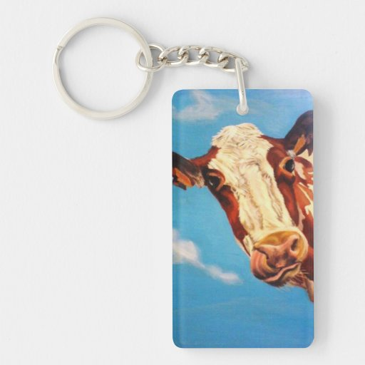 Silly Moo! Keychains