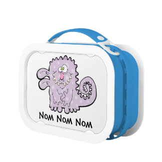 Silly Purple Monster Yubo Lunchbox