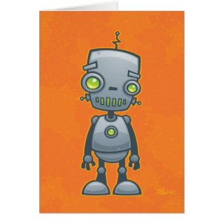 Silly Robot Card