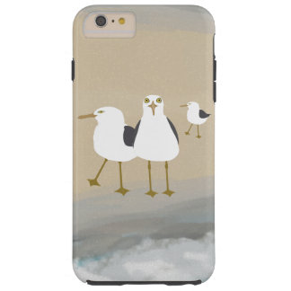 Silly Seagulls iPhone 6/6s Plus, Tough Phone Case
