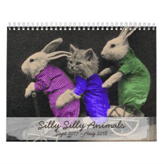 Silly Silly Animals - 2017 Calendar