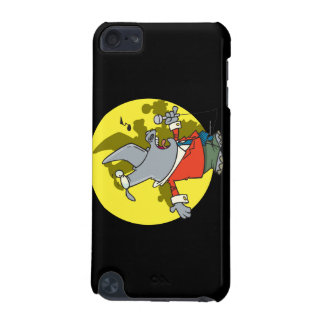 silly singing karaoke rhino cartoon iPod touch (5th generation) cases