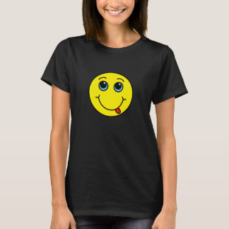 Silly Smiley Face Yellow T-Shirt
