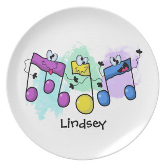 Silly Song Plate