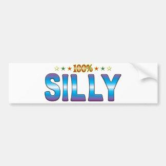 Silly Star Tag v2 Bumper Stickers