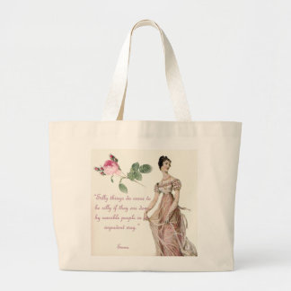 Silly things large tote bag