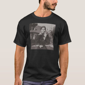 Silly Victorian Era Photo Woman Making Funny Face T-Shirt