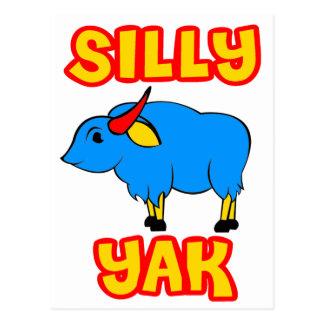 Silly Yak Postcard