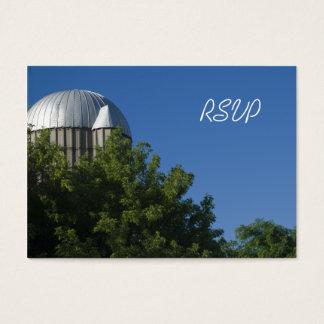 Silo and Blue Sky Farm Wedding RSVP Response Card