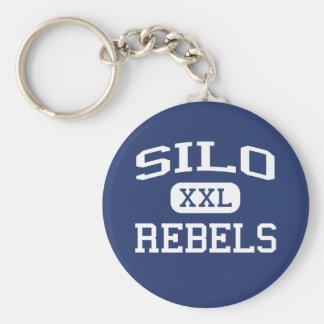Silo - Rebels - Silo High School - Durant Oklahoma Key Ring