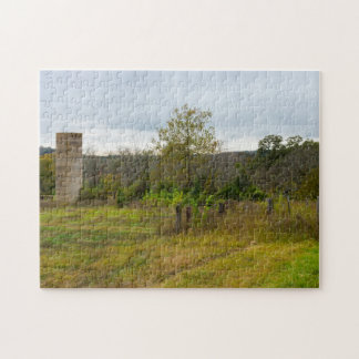 Silo Still Stands Jigsaw Puzzle