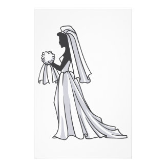 SILOUETTE BRIDE STATIONERY DESIGN