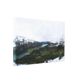 Sils, Engadin, Switzerland Canvas Print