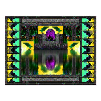 Silurian Doves Postcard