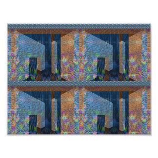 """Silurian Perspective"" Art Photo Print"
