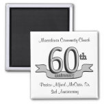 Silver 60th Anniversary Party Favours