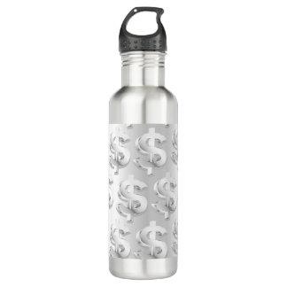 $ Silver $ 710 Ml Water Bottle