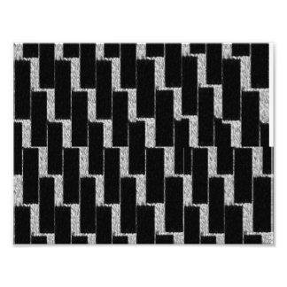 Silver and Black Illusion Art Photo