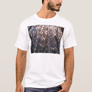 Silver and blue sparkles T-Shirt