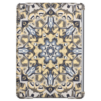 Silver And Gold Abstract Cover For iPad Air