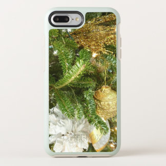 Silver and Gold Christmas Tree I Holiday OtterBox Symmetry iPhone 8 Plus/7 Plus Case