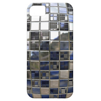 Silver and some Blue Disco Ball Mirrors iPhone 5 Cover