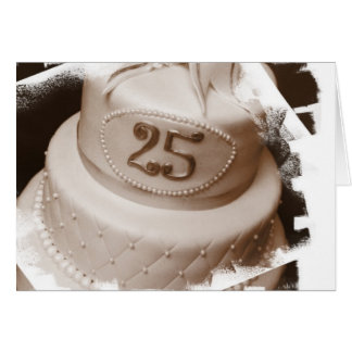 Silver Anniversary Note Cards