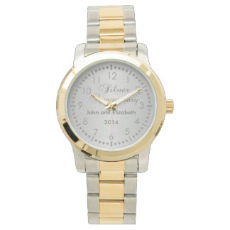 Silver Anniversary Watch