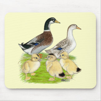 Silver Appleyard Family Mouse Pad