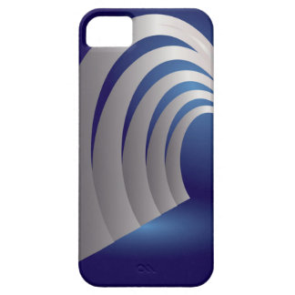 silver arcade tunnel iPhone 5 covers