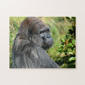 Silver Back Gorilla Jigsaw Puzzle