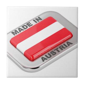 Silver badge Made in Austria Tile