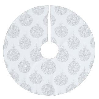 Silver Balls - Christmas Tree Skirt