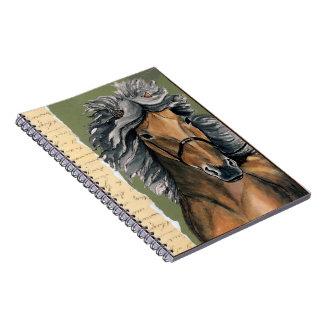 Silver Bay Icelandic Spiral Notebook