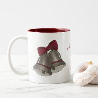 Silver Bells Wedding Bell Personalized Mug