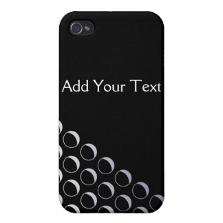 Silver Bubbles Business iPhone 4/4S Cases