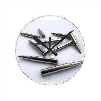 Silver Bullet Clock